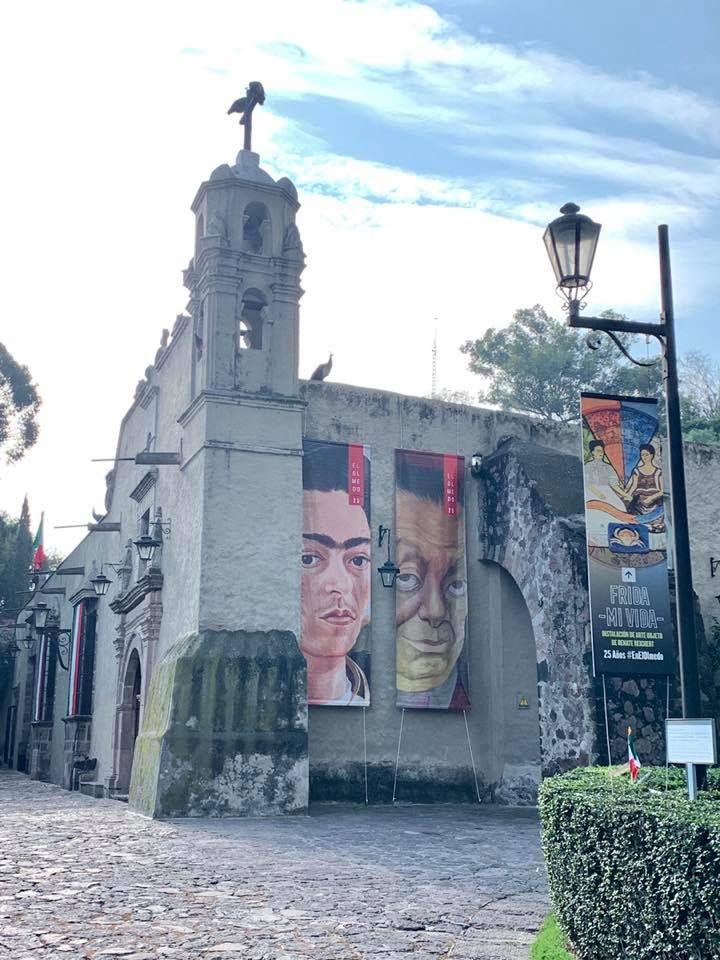 Diego y Frida en el Olmedo