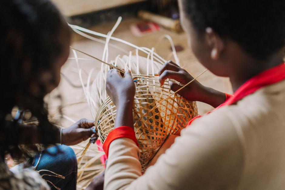 artesanías Ruanda