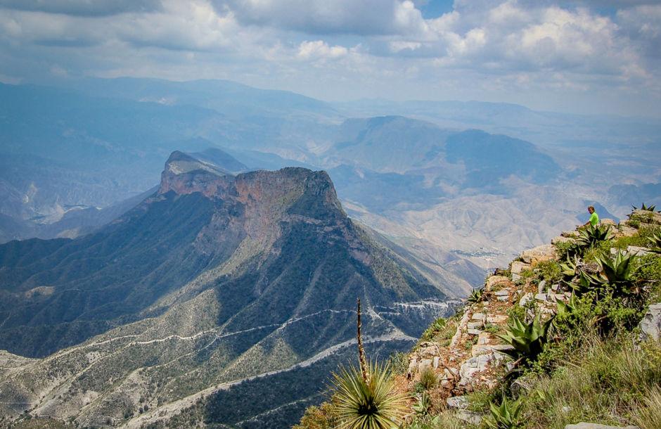 Mirador de Cuatro Palos, en el estado de Querétaro