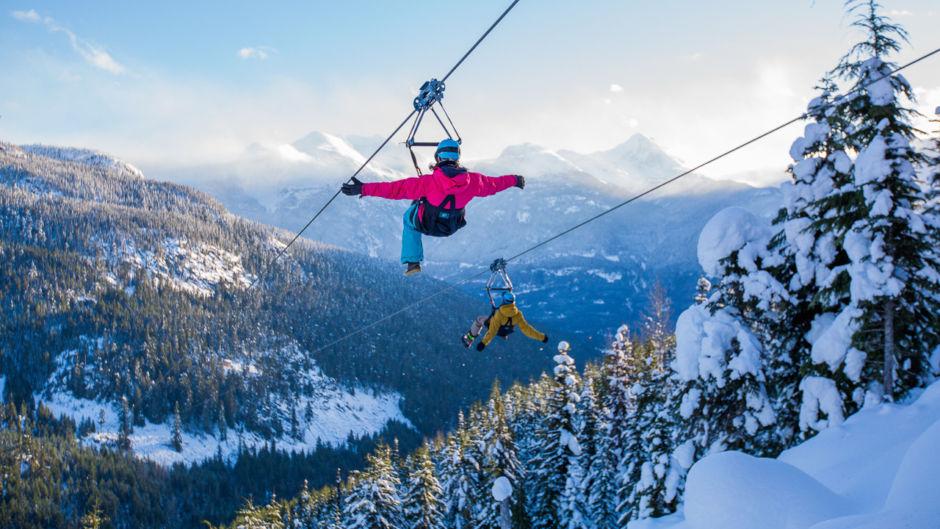7 razones por las que Whistler es el destino perfecto para los amantes de la aventura