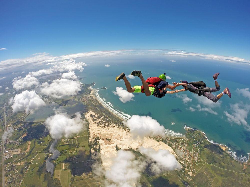 cosas para hacer antes de morir paracaidismo sky diving