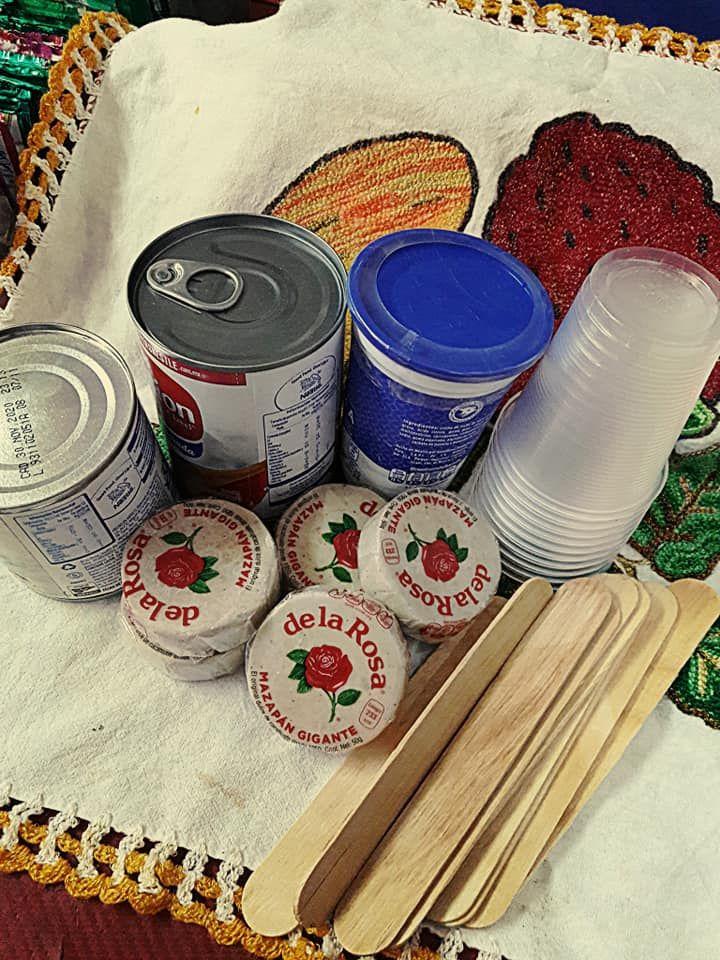 paletas heladas de Mazapán
