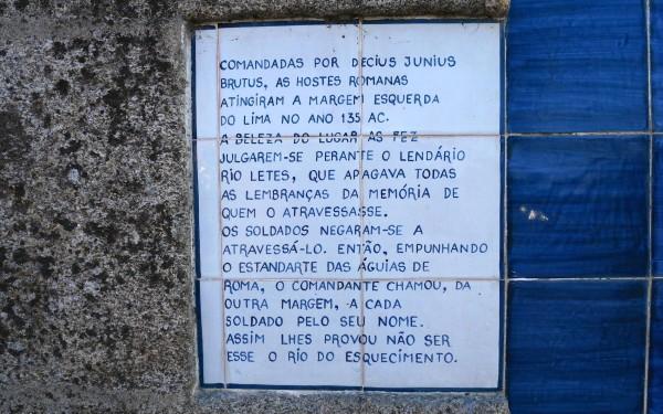 Lima: rio do esquecimento.