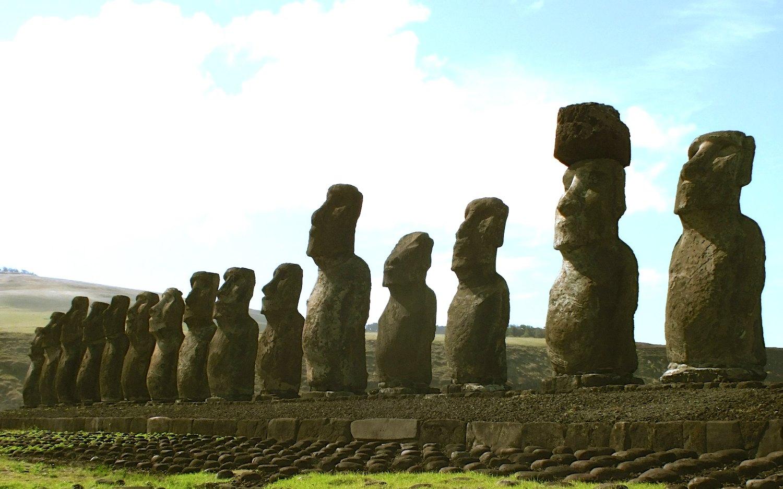Moaïs Rapa Nui