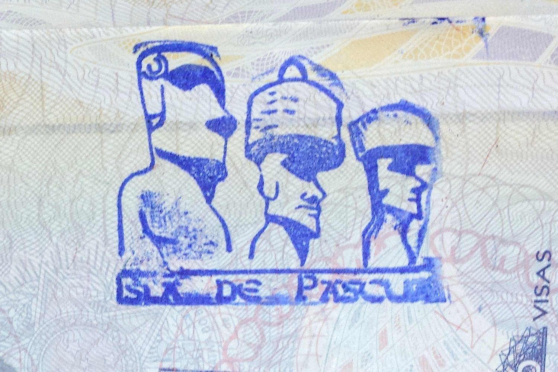 Tampon de passeport Rapa Nui