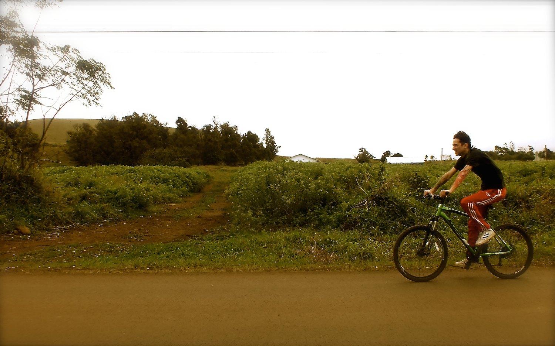 faire du vélo à Rapa Nui