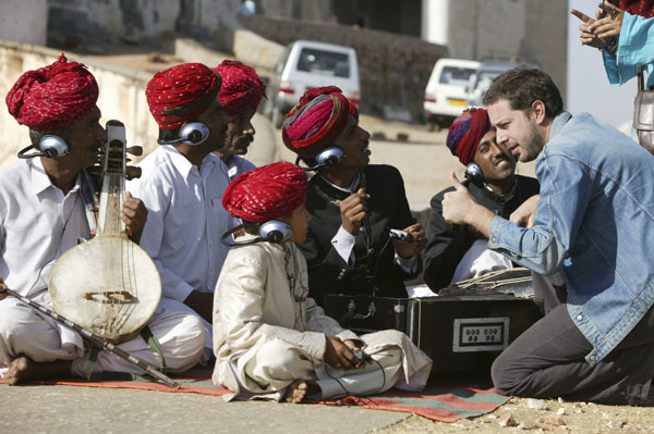 Jamie Catto in India