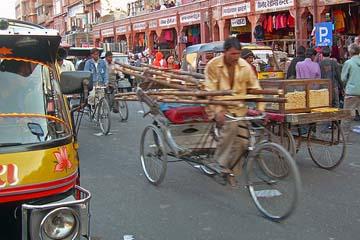 Traffic in India