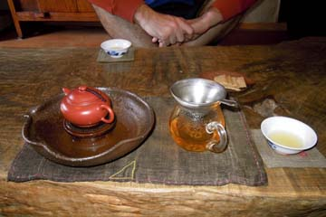 South Korean teahouse