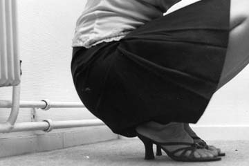 pblack skirt