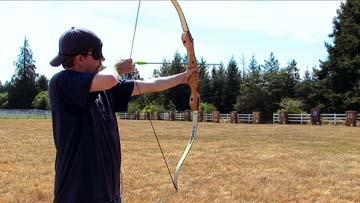 Archery at Ramtha's School of Enlightenment