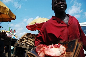 Butcher in Nigeria