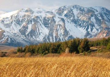 Patagonian mountain landscape