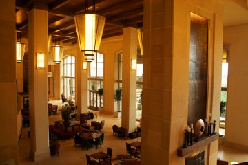 Lobby bar, Marriott San Antonio