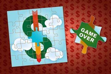 dead dollar jigsaw puzzle