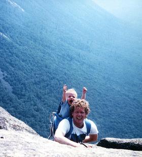happy hikers photo