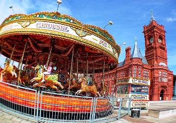Riding a Carousel, Wales