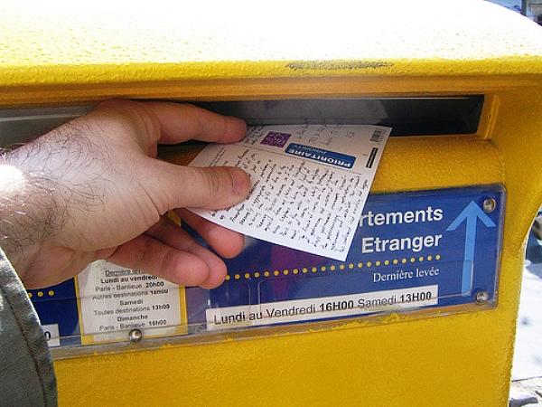 Mailing a Postcard