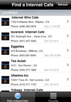 Find Internet Cafe