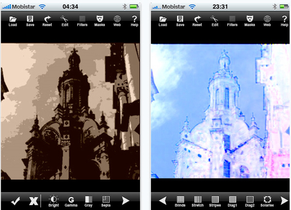 Filter & Effects iPhone Apps
