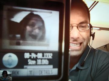 Skype phone call