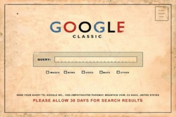 vintage google