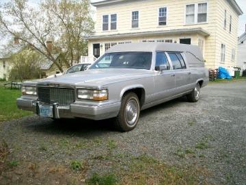 Silver hearse