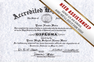 realistic diplomas