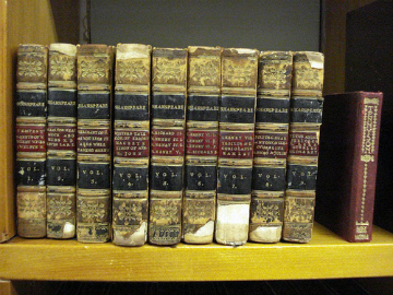 old copies of shakespeare