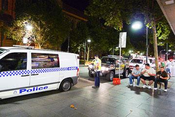Melbourne cops