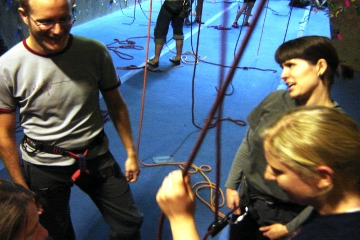 belay session photo