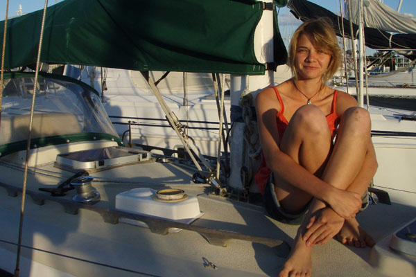 Jessica Watson, 16, Youngest person to sail around the world solo