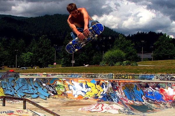 Skateboard Week in Vancouver