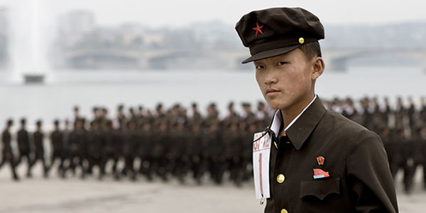 North Korean army officer