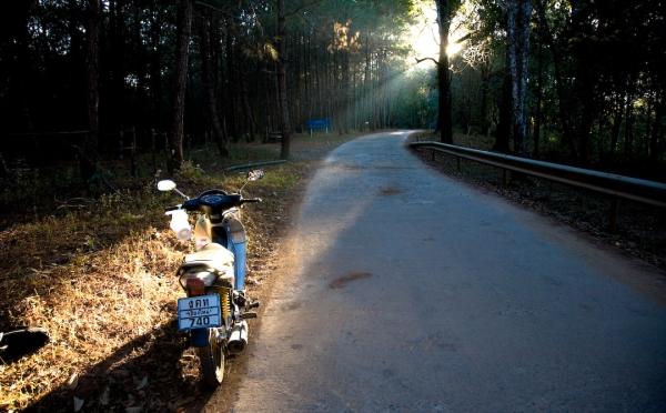 Thai motorbike