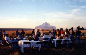 Banquet in Big Sky