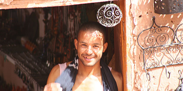 Smiling Moroccan