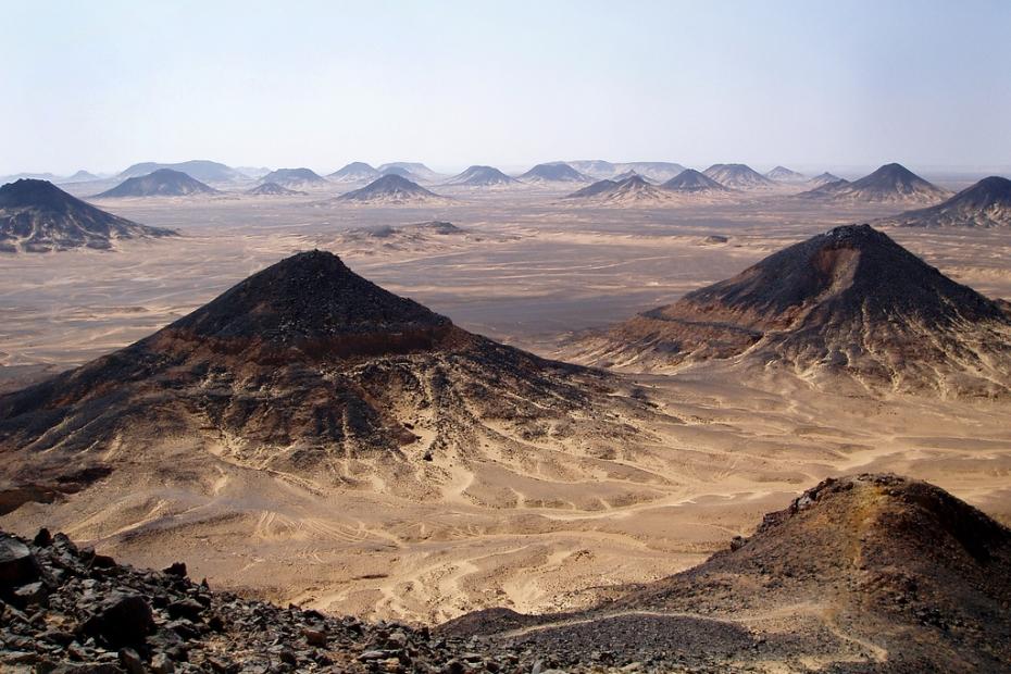 Egypt's Black Desert