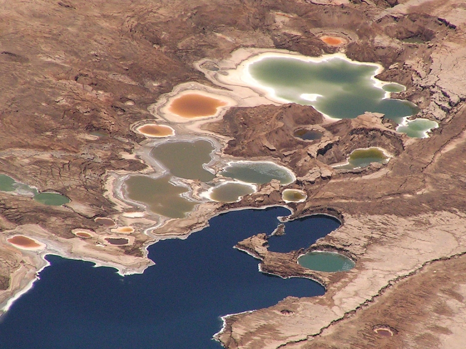 Dead Sea from the air