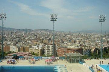 Montjuïc Municipal Olympic Swimming Pool, Barcelona