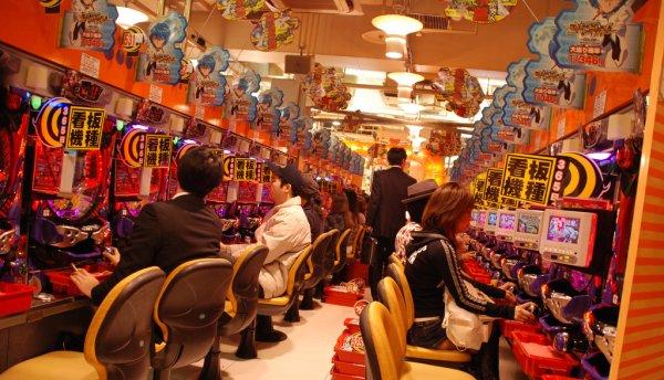 Slot club in Tokyo