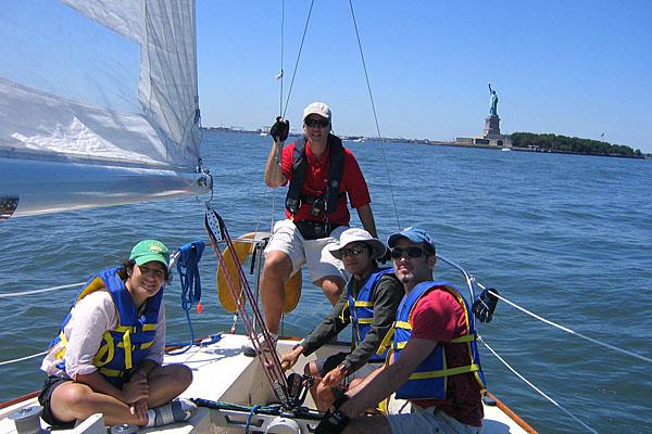 sailing in NY