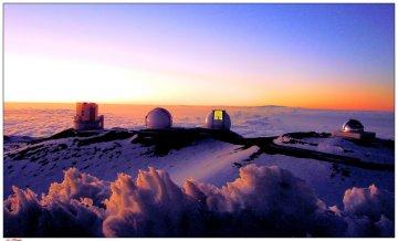 Observatory on Mauna Kea, Hawaii