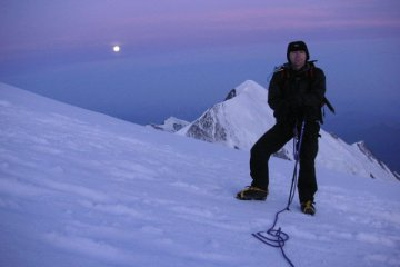 mont blanc mountaineering photo