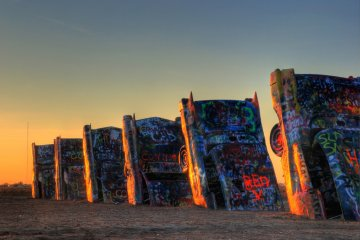 Cadillac Ranch, Texas