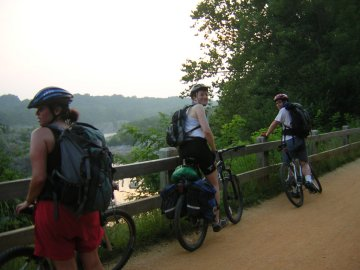 Cycling the C&O Towpath