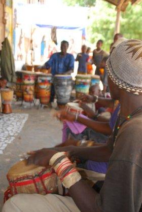 Drummer, Casamance, Senegal