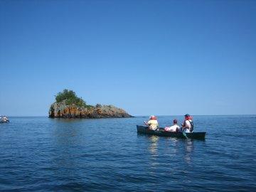 Paddling Isle Royale