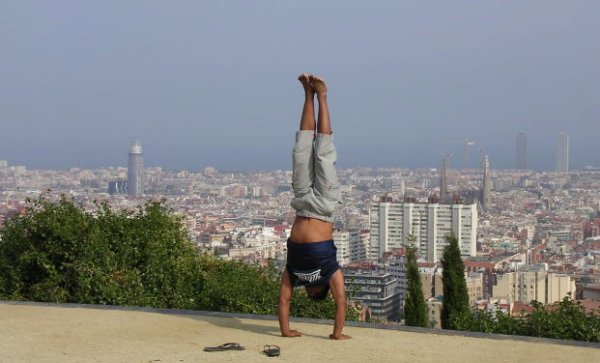 Handstand in Bangkok