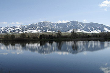 Bozeman lake view